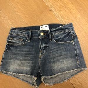 Frame Denim Shorts